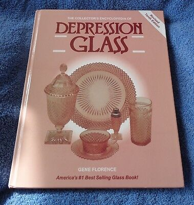 Collector's Encyclopedia Of Depression Glass Book-Revised 10th Edition