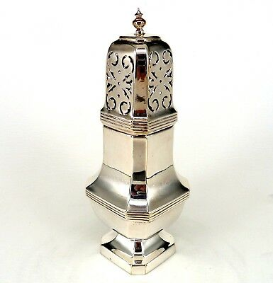 Silver Art Nouveau Style Sugar Caster Or Shaker Traditional Tower Form