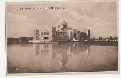 India, The Victoria Memorial Hall Calcutta Postcard, B229
