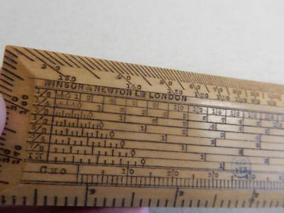 WINSOR NEWTON really old artist rule 6 inch RULER