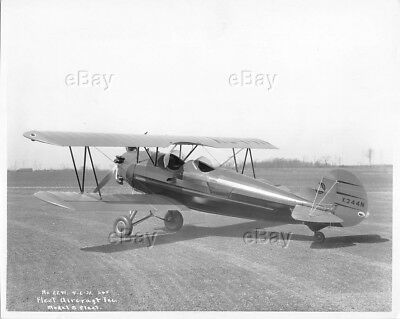 Vintage Photo Consolidated Aircraft Fleetster Model 8 Fleet Plane 1931 X344N Old