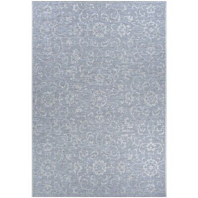 """Couristan Summer Vines Pewter In-Out Runner, 2'3"""" x 7'10"""" - 23313124023710U"""