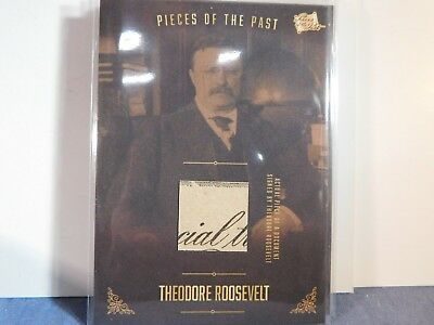 2017 The Bar Pieces of the Past Relic DOC Handled & Signed by THEODORE ROOSEVELT