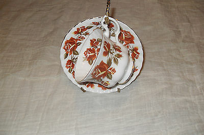 Royal Albert LAKESIDE series (THIRLEMERE )  Cup and Saucer   bone china