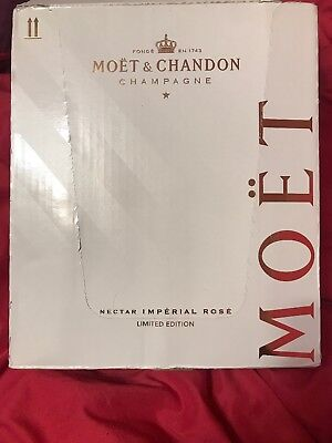 Moet & Chandon x Off White Limited Nectar Imperial Rose Virgil Abloh IN HAND NOW