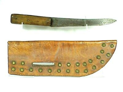 Plains Indian or Frontiersman TACKED KNIFE SHEATH