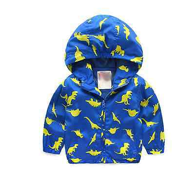 Toddler Baby Boys/Girls outerwear Hooded coats Cartoon Kids Baby Clothes