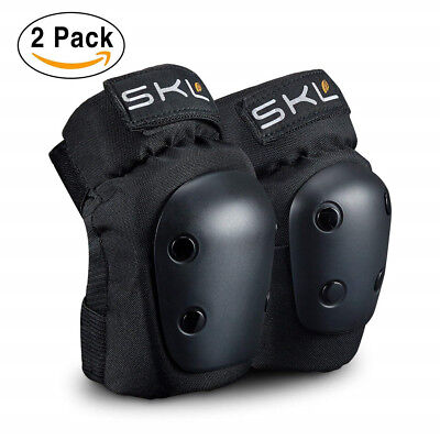 Youth Kid's Knee Pads Elbow Protective Gear Set for Sports Skateboard Roller M