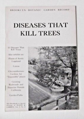 Brooklyn Botanic Garden Record Diseases That Kill Trees Summer 1951 Lawns Garden