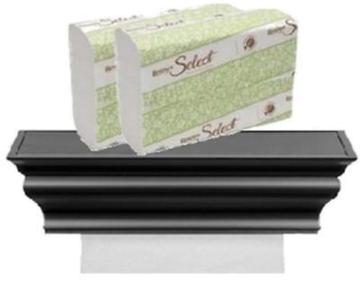 ABS plastic HealthyShelf COMBO Includes Dispenser + Select Recycled Paper Towels