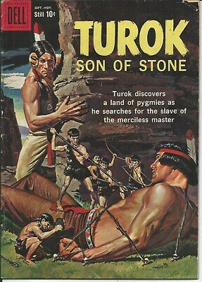 The Unique! The Rare! The Awesome! Turok Son Of Stone # 17 (1959) Vg.