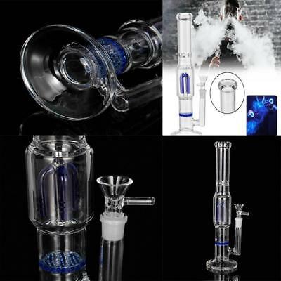 Hookah Smoking Glass Water Bong Filter Glassware  Smoke Bowl Tobacco Pipe