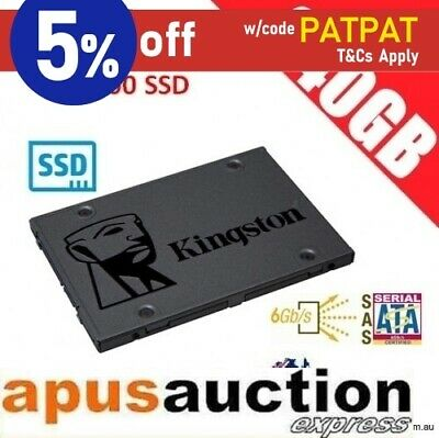Kingston A400 SSD 240GB Solid State Drive SATA 6GB/s Laptop PC Notebook 500MB/s