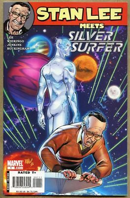 Stan Lee Meets Silver Surfer #1-2007 nm- 9.2 Marvel Mike Wieringo
