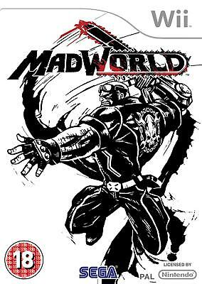 Mad World (Nintendo Wii) Nintendo Wii PAL VERY GOOD CONDITION WITH MANUAL