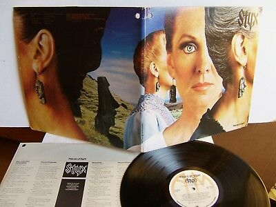 Styx - Pieces Of Eight  SP 4724  Canada LP  1978  A&M