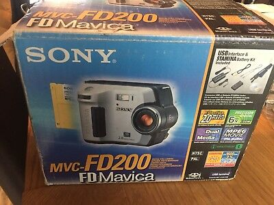 Sony Camcorder/digital Camera Boxed With Instructions free postage :)