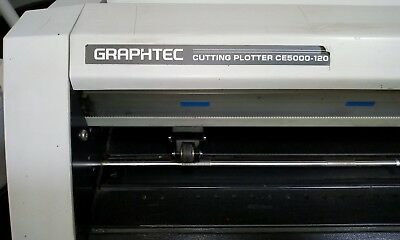 Cutter Potter Graphtec CE5000-120  needs new cutting band