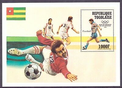 Togo MiNr. Block 239 postfrisch/ MNH Olympia 1984 Los Angeles (Oly1147