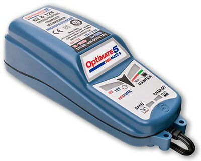 Chargeur Maintient Batteries Optimate 5 Voltmatic Automatique 6V/12V Care