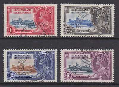 1935 GV Bechuanaland Jubilee set used, SG111/14 cat £30