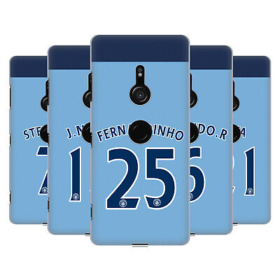 Manchester City Man City Fc Player Home Kit 2016/17 2 Case For Sony Phones 1