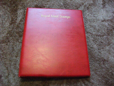 Royal Mail 4 Ring Stamp Album With 10 Prinz Hagner Pages Good Condition