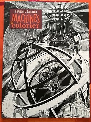 "SCHUITEN: cahier de coloriage  ""Machine"""