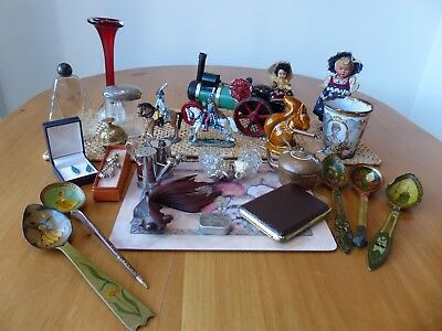 Job lot of Antique and vintage collectable items from cupboard find