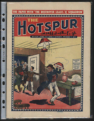 Hotspur #406, June 7Th 1941,  High Grade Copy From An Exceptional Collection