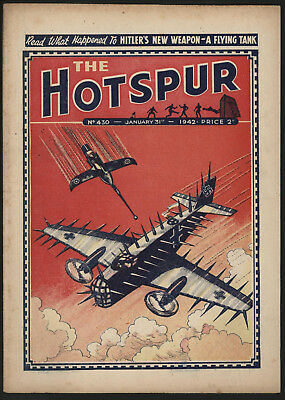 Hotspur #430, Jan 31St 1942,  Exceptional Copy From A Private Collection