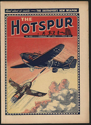 Hotspur #432, Feb 28Th 1942,  Exceptional Copy From A Private Collection