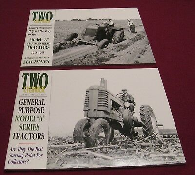 2  { MODEL A } ISSUES - John Deere Club Two Cylinder Magazine 2000 2002