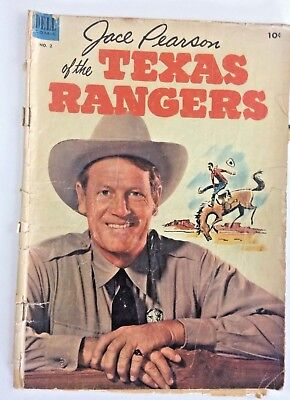 Dell Comic 1953 No.2 Jace Pearson of the Texas Rangers 10 Cent Western Comic
