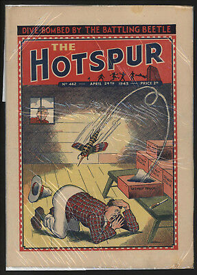 Hotspur #462, Apr 24Th 1943,  Exceptional Copy From A Private Collection