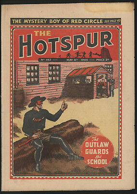 Hotspur #463, May 8Th 1943,  Exceptional Copy From A Private Collection