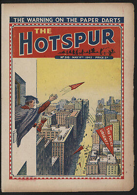 Hotspur #516, May 19Th 1945,  Exceptional Copy From A Private Collection