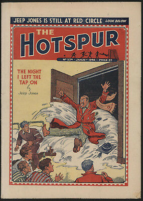 Hotspur #534, Jan 26Th 1946,  Exceptional Copy From A Private Collection