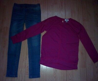 Old Navy & Cherokee 2 Piece Girls Outfit Size 7-8