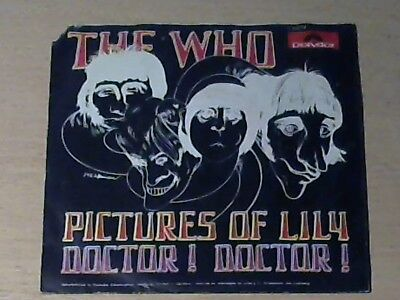 """7"""" THE WHO * Pictures Of Lily"""