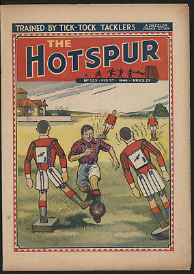 Hotspur #535, Feb 9Th 1946,  Exceptional Copy From A Private Collection