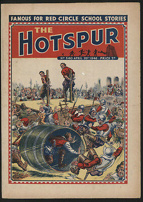 Hotspur #540, Apr 20Th 1946,  Exceptional Copy From A Private Collection