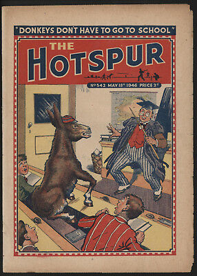 Hotspur #542, May 18Th 1946,  Exceptional Copy From A Private Collection