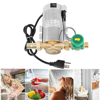 110V Household Booster Pump 90W Automatic Boost Water Pressure Pump for Shower