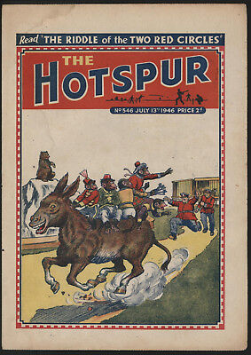 Hotspur #546, July 13Th 1946,  Very Good Copy From A Private Collection