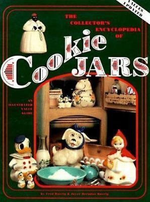 Collectors Encyclopedia of Cookie Jars HC Antique reference