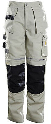 DBlade Mens Work Trousers Multipocket Reinforced Workwear Pants CE EN14404 Small
