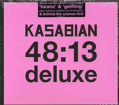Kasabian - 48:13 Deluxe (CD & DVD) Digipak (New & Sealed)
