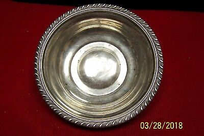 Sterling Silver Manchester Silver Co. Antique Bowl #997G