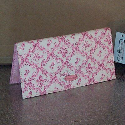 Longaberger Horizon of Hope CHECKBOOK Cover ~ Brand New with Tag!